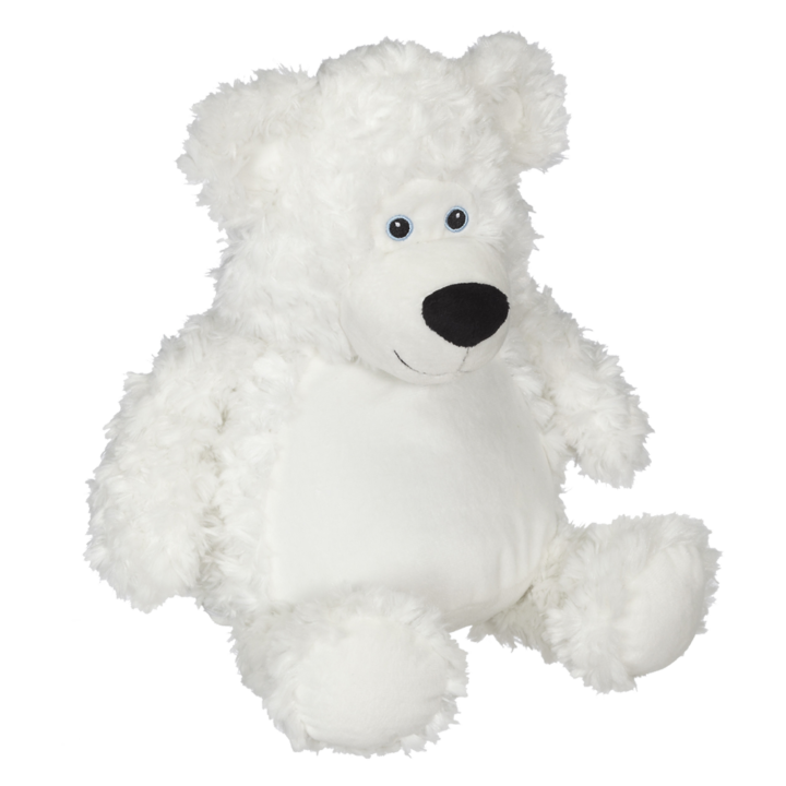 Bobby Buddy Bear, white