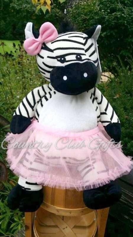 Zachary Zebra Buddy