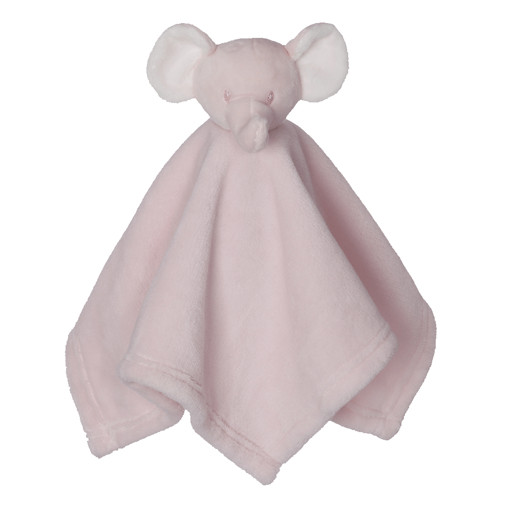 Mini Elephant Blankey Buddy, Pink