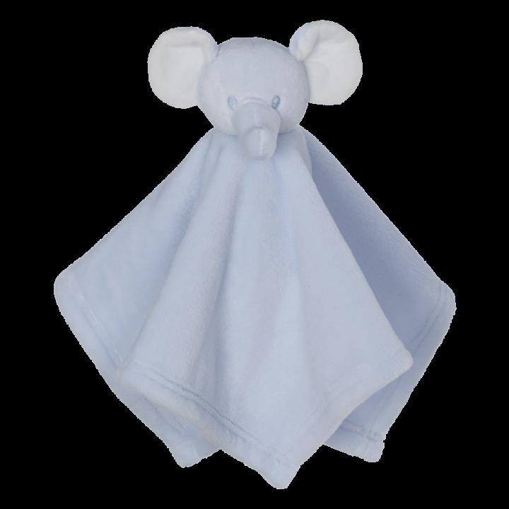 Mini Elephant Blankey Buddy, Blue