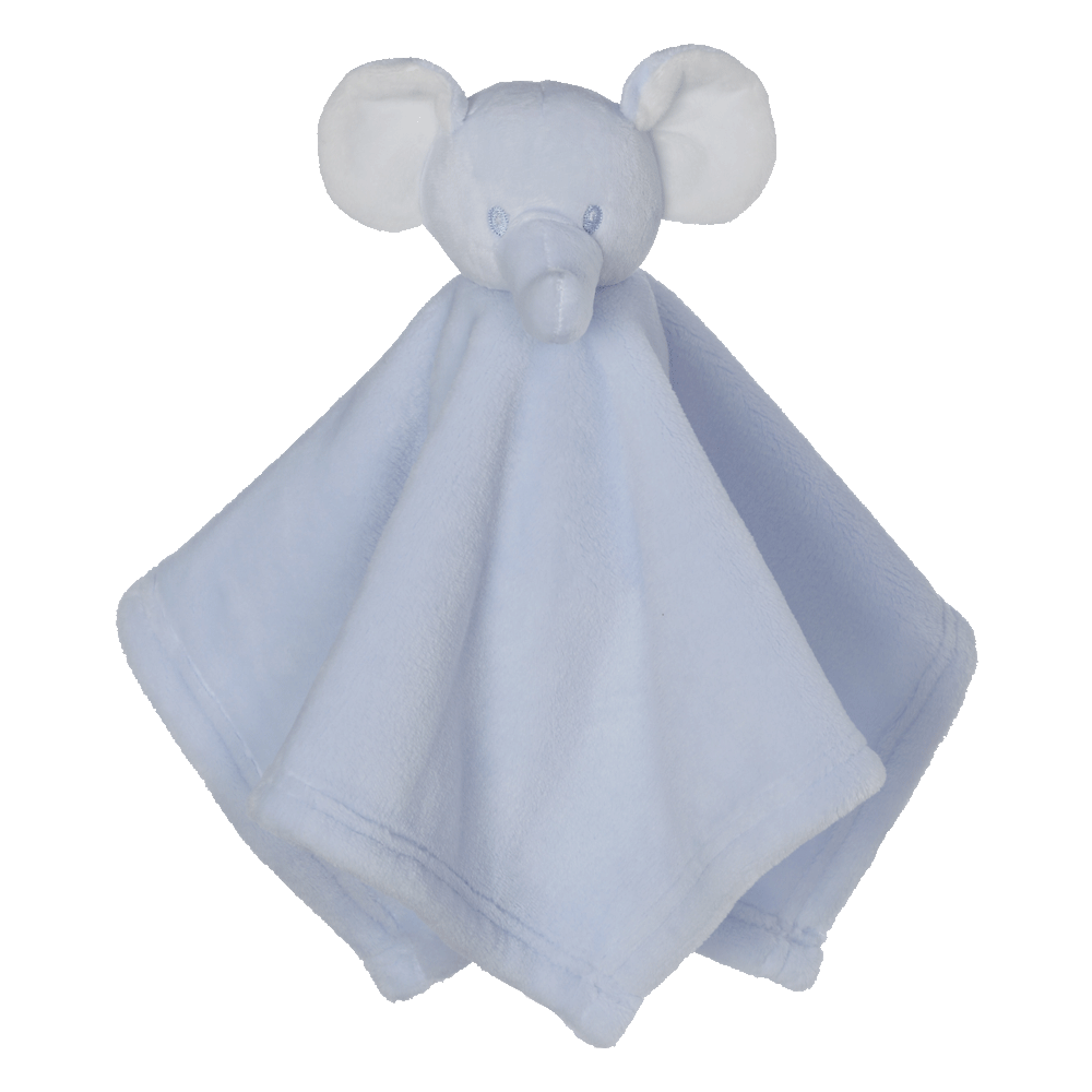Mini Elephant Blankey Buddy, Blue