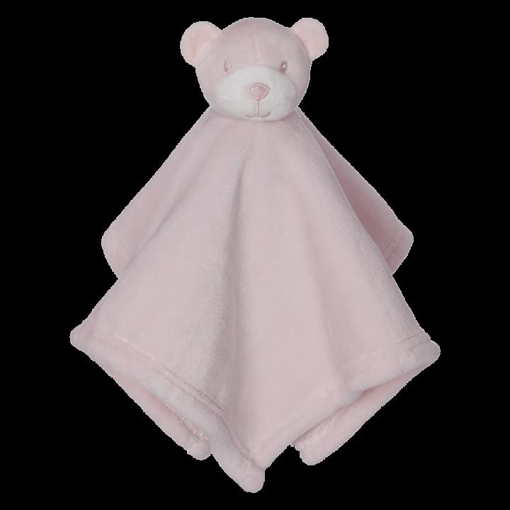 Mini Bear Blankey Buddy, Pink