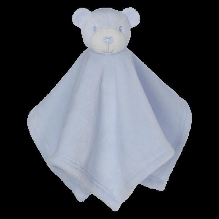 Mini Bear Blankey Buddy, Blue