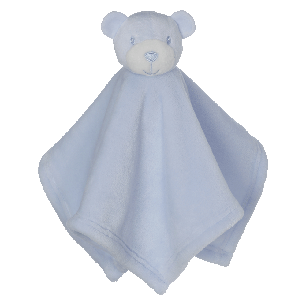 Mini Bear Blankey Buddy, Blue