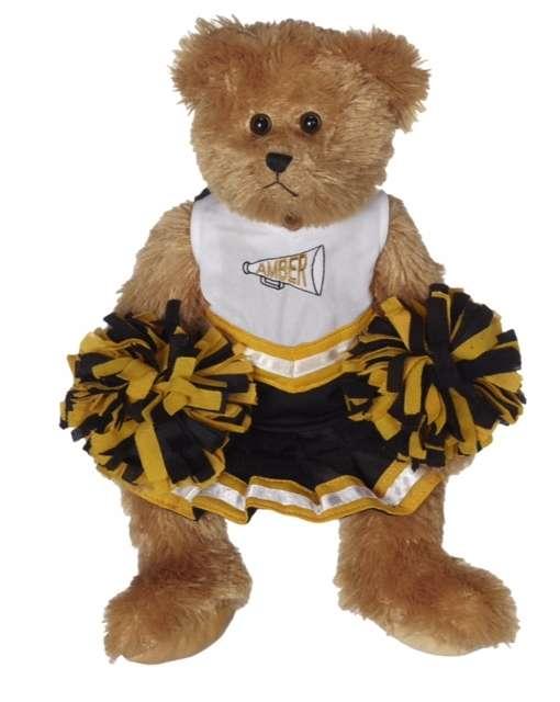 Embroider Buddy Morris Bear in Cheerleader Uniform