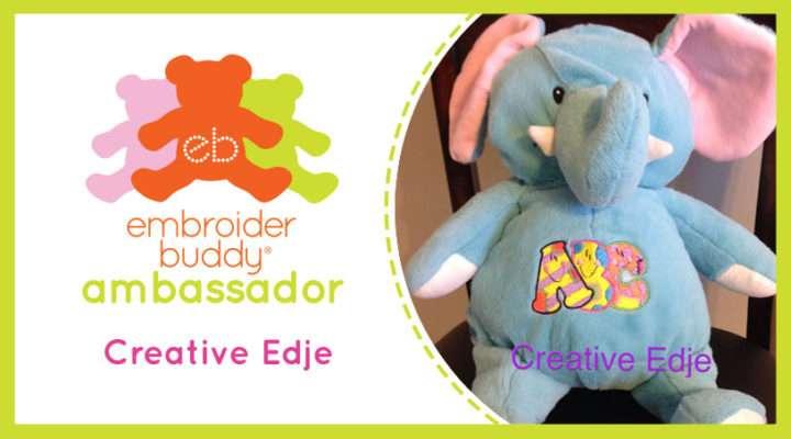 Embroider Buddy® Ambassador - Creative Edje