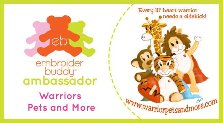 Embroider Buddy® Ambassador - Warriors Pets and More