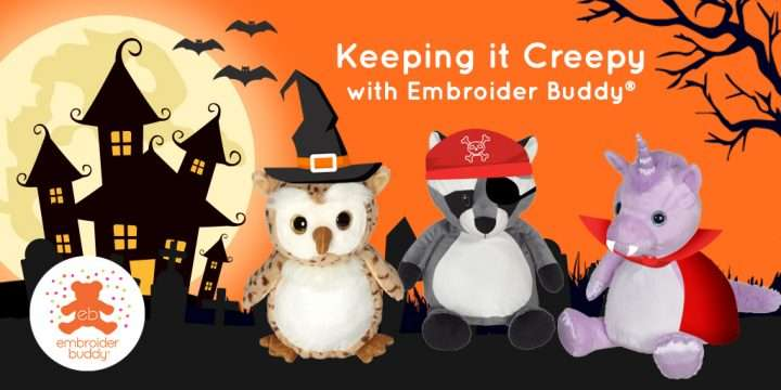 Keeping it Creepy with Embroider Buddy®