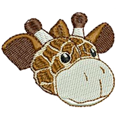 embroider buddy® – Gerry Giraffe Buddy Charm
