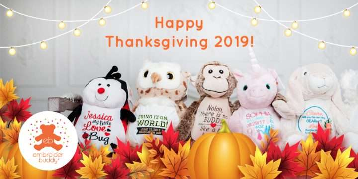 Happy Thanksgiving 2019!