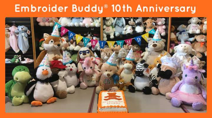 Embroider Buddy 10 Years