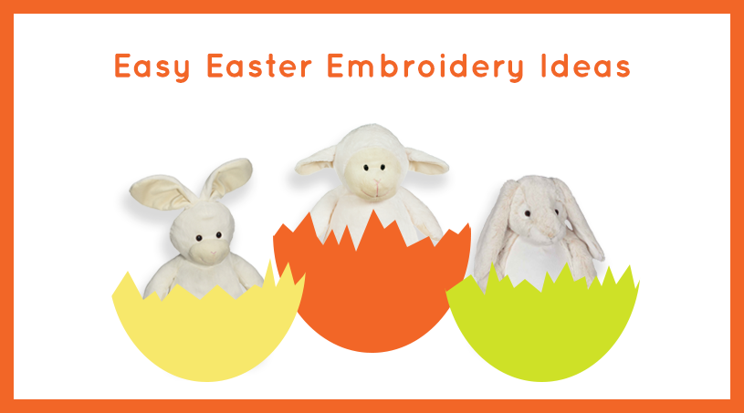 Easy Easter Embroidery Ideas