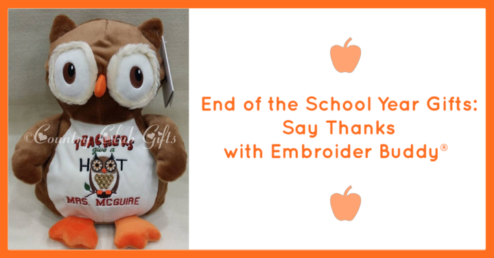 End of the School Year Gifts: Say Thanks with Embroider Buddy®