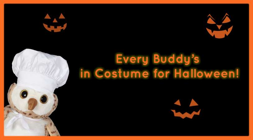 Every Buddy's in Costume for Halloween