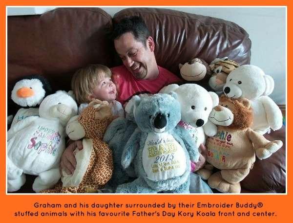 Graham loves Embroider Buddy®,