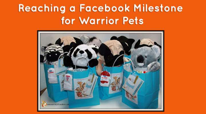 Facebook Milestone for Warrior Pets