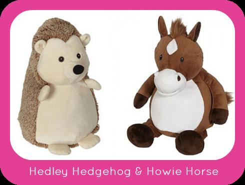 New Embroider Buddy® Hedley Hedgehog