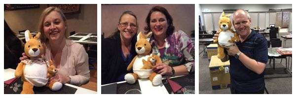 Embroider Buddy® visits a land Down Under