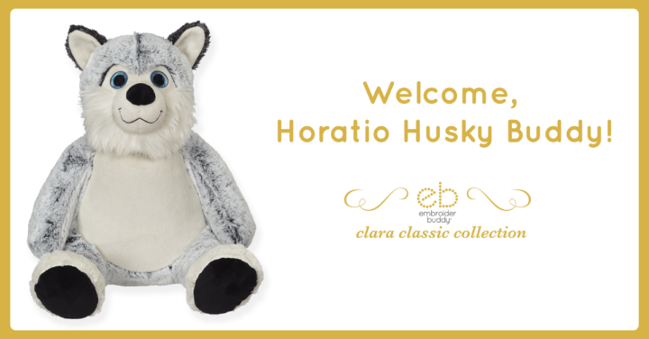 Leader of the pack: Welcome, Horatio Husky Buddy!