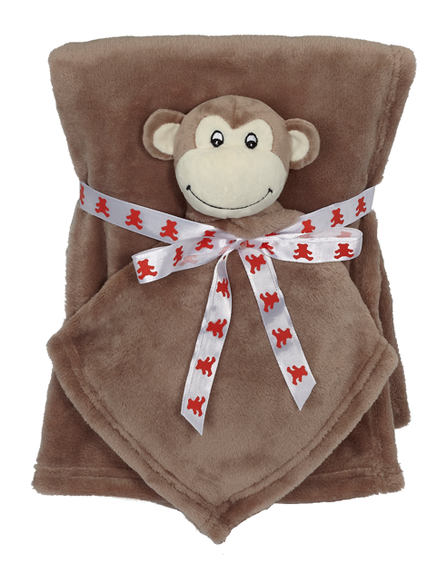 Monkey Blankey Buddy