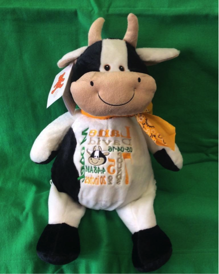 Embroidered Cow