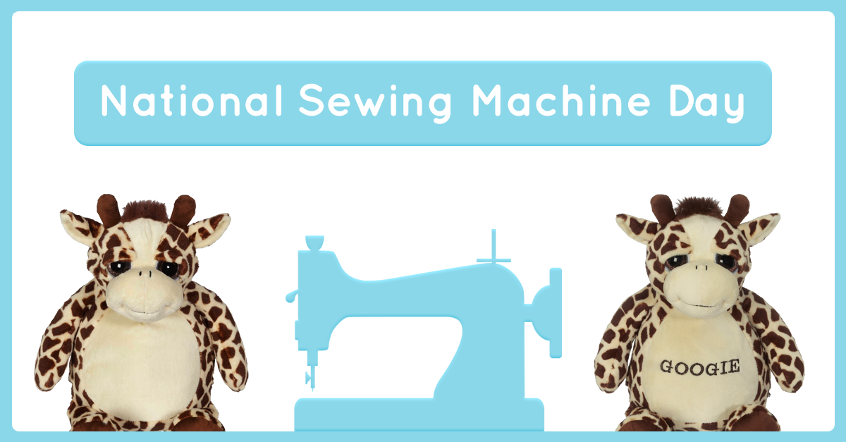 The Art Of Embroidery And Buddies National Sewing Machine Day Impressive Sewing Machine Day