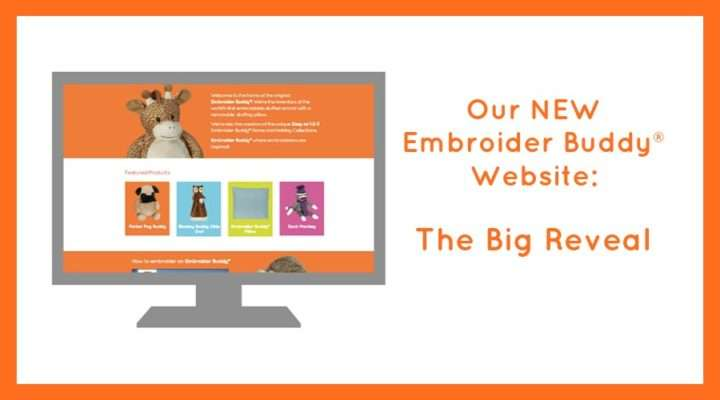 New Embroidery Buddy Website