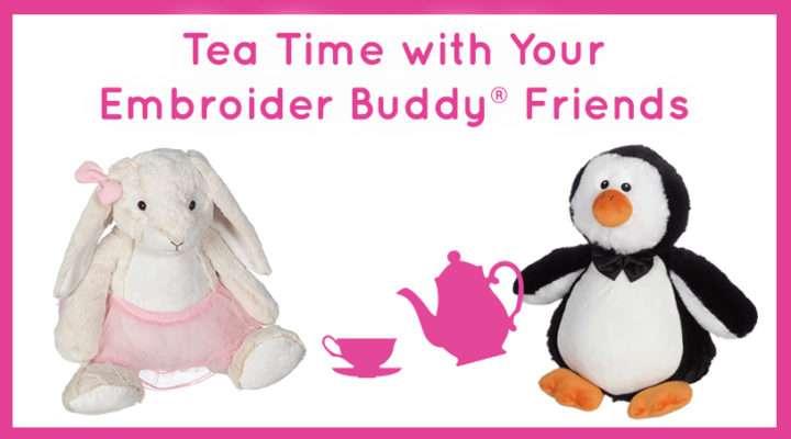 Embroider Buddy Tea Time