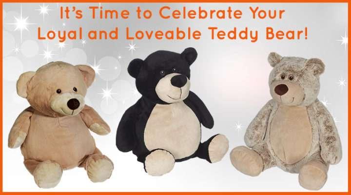 Embroider Buddy Teddy Bears