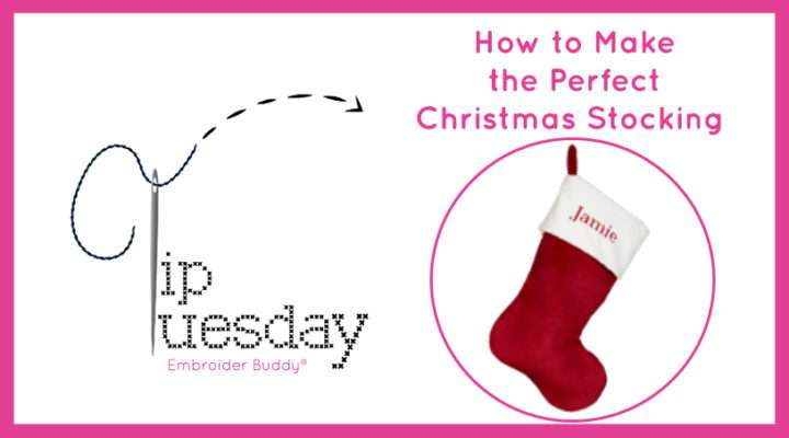 How to make the perfect Christmas stocking