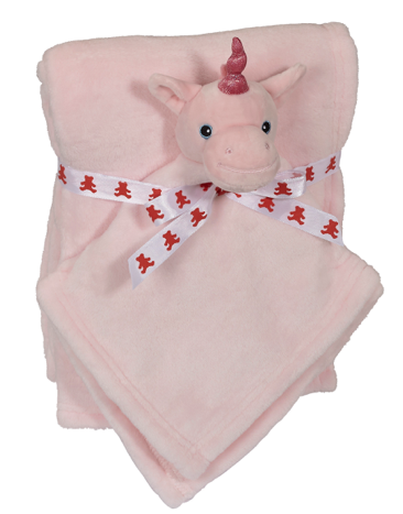 Whimsy Unicorn Blankey Buddy