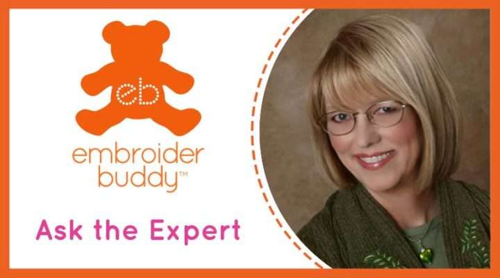 What type of stabilizer should I use on Embroider Buddy® stuffed animals?
