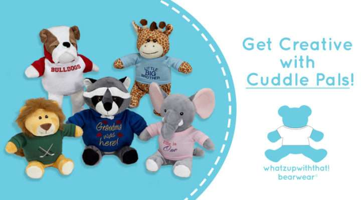 Get Creative with Cuddle Pals and WhatzUpWithThat!® Bearwear