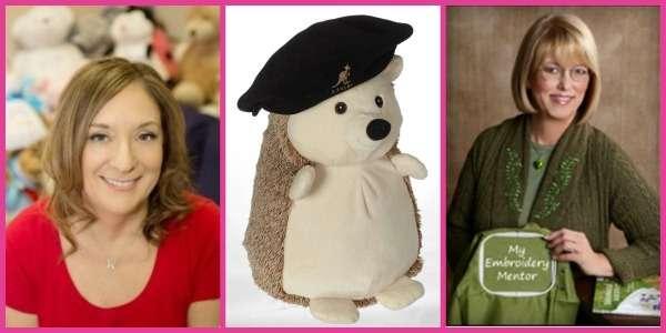 Donna Kotzer-Jacobs, Hedgehog Embroider Buddy, Deborah Jones
