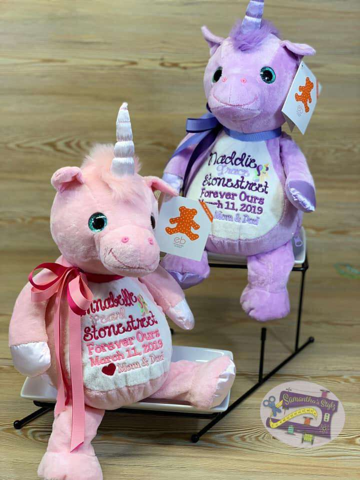 Whimsy and Violette Unicorn
