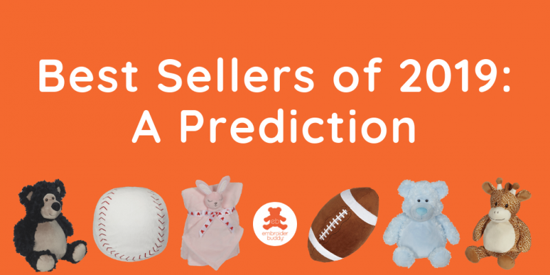 Best Sellers of 2019: A Prediction