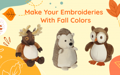 Make Your Embroideries With Fall Colors!