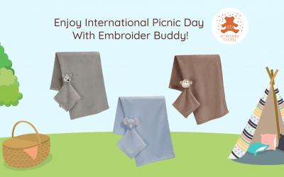 Enjoy International Picnic Day With Embroider Buddy
