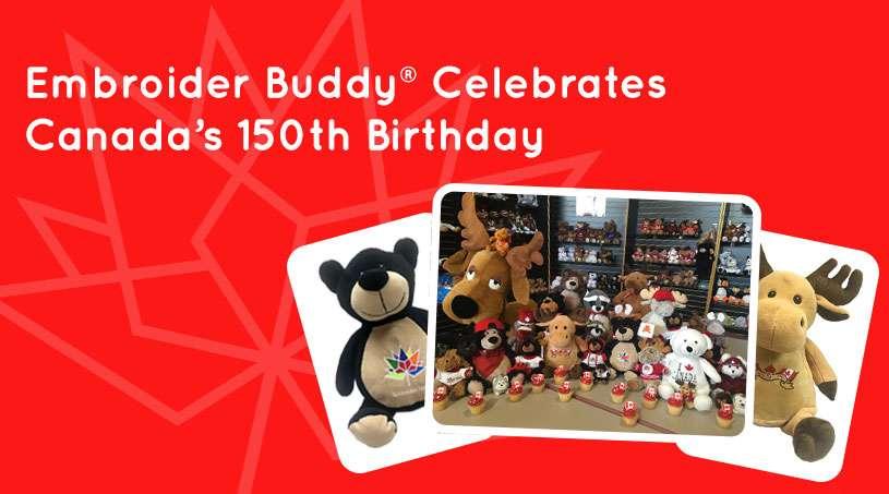 Embroider Buddy® Celebrates Canada's 150th Birthday