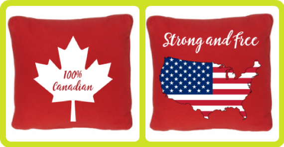 Canada and Independence Day Themes