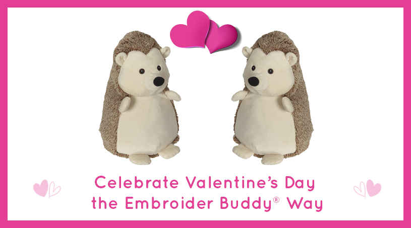 Be Mine! Celebrate Valentine's Day the Embroider Buddy® Way