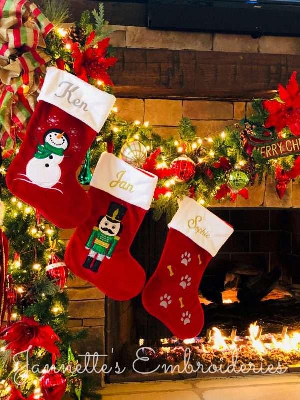 Christmas Stockings Embroider Buddy