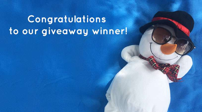 Announcing the Winner of the Embroider Buddy® Christmas in July Buddymoon Giveaway!