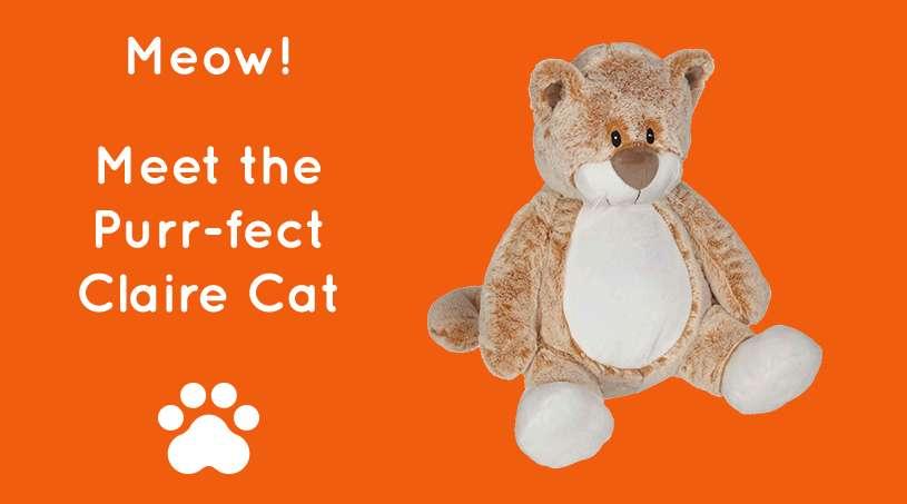 Meow! Meet the Purr-fect Claire Cat