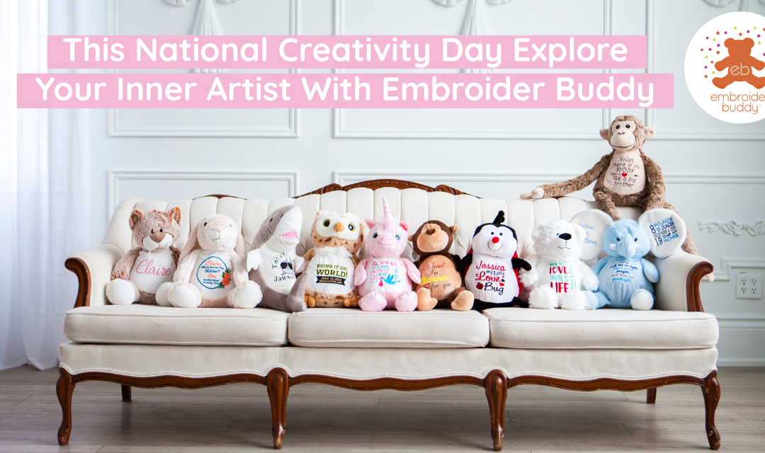 This National Creativity Day Explore Your Inner Artist With Embroider Buddy