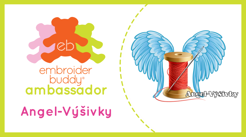 Embroider Buddy® Ambassador – Angel-Vysivky