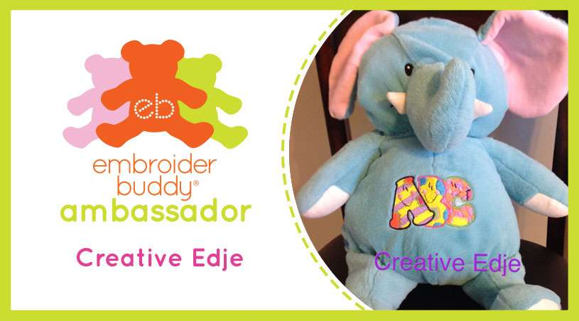 Embroider Buddy® Ambassador – Creative Edje