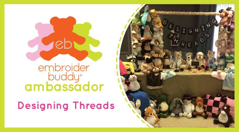 Embroider Buddy® Ambassador – Designing Threads