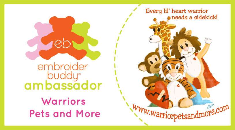 Embroider Buddy® Ambassador –  Warrior Pets and More