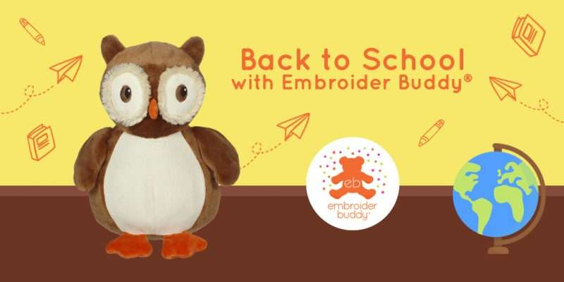 Back to School with Embroider Buddy